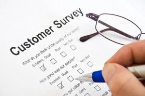 Customer Survey data entry