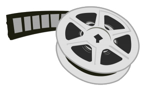 A reel of 16mm microfilm